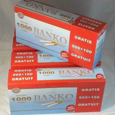 tubes a cigarette banko