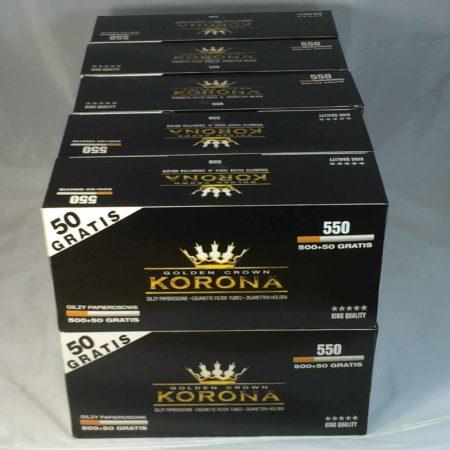 tubes cigarettes korona
