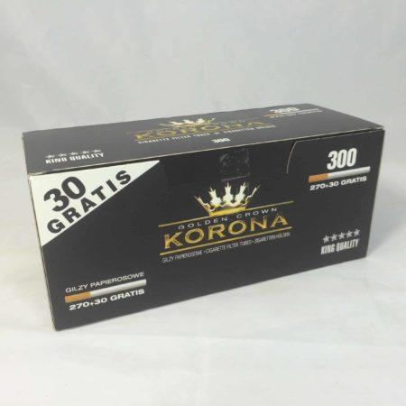 tubes a cigarettes korona