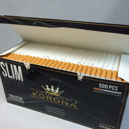 tubes a cigarette slim