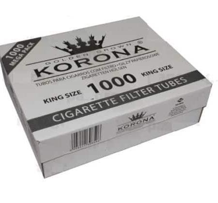 1000 tubes à cigarette korona