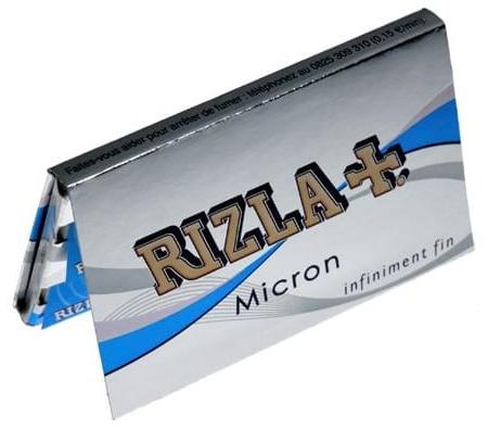 Feuilles à rouler rizla micron court