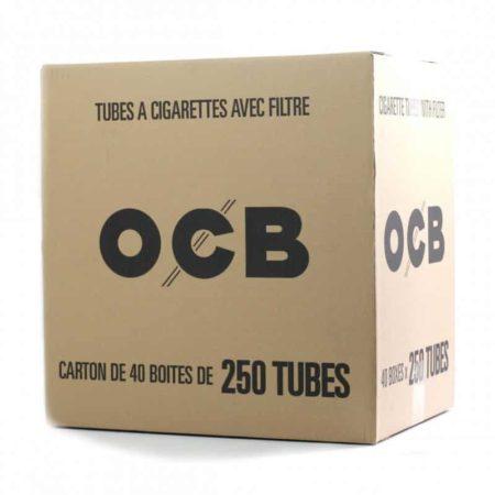 carton boite tubes 250 ocb