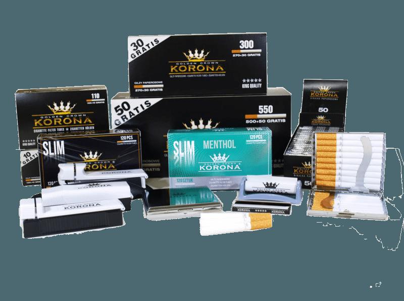 tube tubeuse cigarette korona