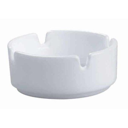 cendrier céramique blanc