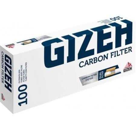 Tube a cigarette gizeh carbon filter