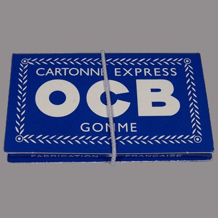 Feuilles OCB Cartonne Express Gomme