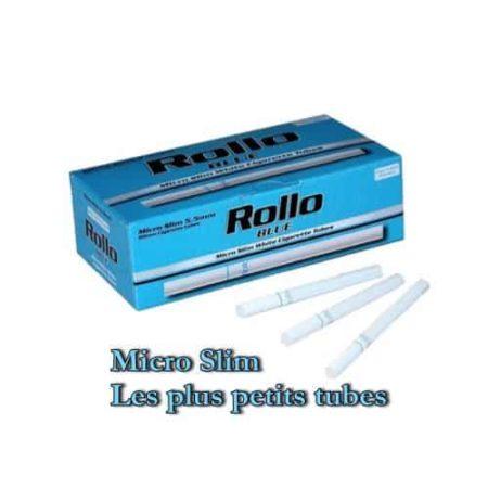 Tubes cigarettes Micro Slim