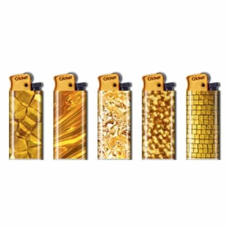 briquet cricket gold
