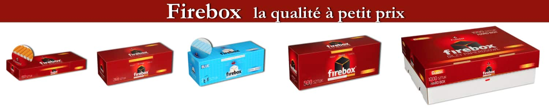 tube à cigarette Firebox