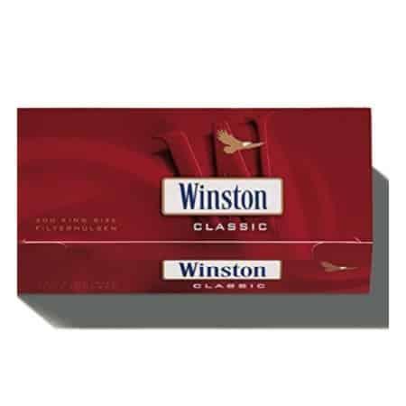 tubes cigarettes winston