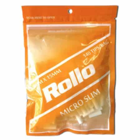 Filtre cigarette micro slim rollo