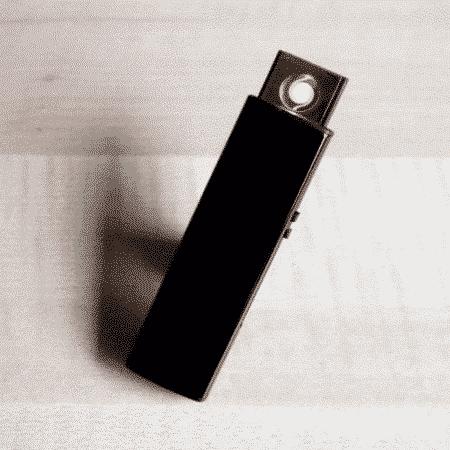 Briquet rechargeable usb noir