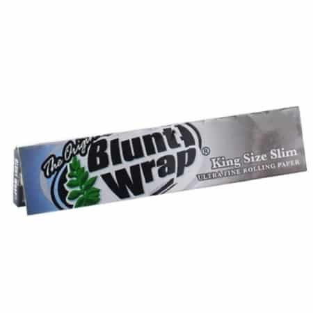 Feuille a rouler blunt wrap silver