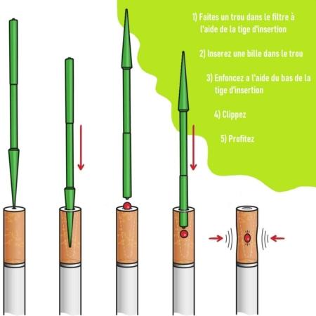 bille filtre cigarette